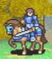 Noah as a Cavalier holding a sword