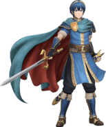 Artwork completo Marth Fire Emblem Warriors