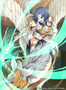Catria as a Falcon Knight in Fire Emblem 0 (Cipher)