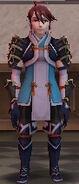 FE14 Pegasus Warrior Dismounted (Tsubaki)