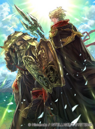 Zeke (Camus) as a Gold Knight in Fire Emblem 0 (Cipher) 2