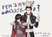 FEH 2nd anniversary Cuboon