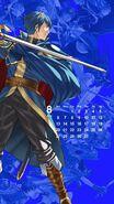 Calendario Fire Emblem Heroes - Marth