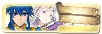 Banner Seliph and Julia (Special)