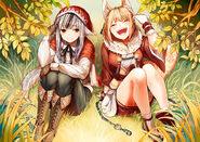 Selkie and Velouria