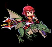 Minerva Macedon Princess Heroes sprite