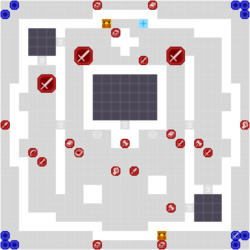 FE16 Map The City Without Light SS Normal