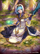 Silque as a Cleric in Fire Emblem 0 (Cipher)