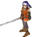 FE10 Mia Swordmaster Sprite