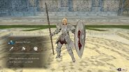 Catherine armored knight