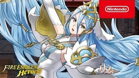 Fire Emblem Heroes - Legendary Hero (Azura Vallite Songstress)
