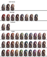 Tharja Hair Colors