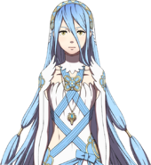 Retrato Azura Mi habitación - Fire Emblem Fates