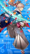 Calendario Fire Emblem Heroes - Takumi año nuevo