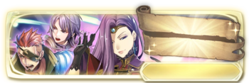 Banner Saber, Leon and Sonya (Special)