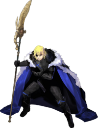 Artwork de Dimitri (Gran Lord) - Fire Emblem Three Houses