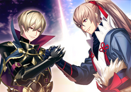 Leo Takumi Support Bromance Art