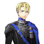 Retrato de Dimitri (estudiante) - Fire Emblem Three Houses