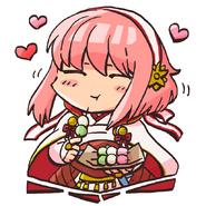 Sakura loving priestess pop04
