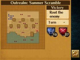 Summer Scramble Map