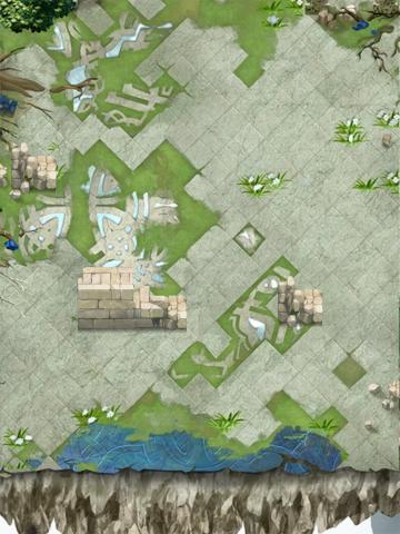 AR Terrain Abandoned Castle