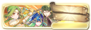 Banner Elincia, Nephenee and Oscar (Special)