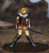 Sun battle (dismounted Black Knight)