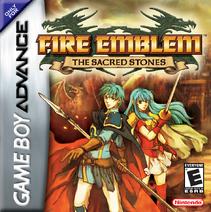 Fire Emblem - The Sacred Stones box art