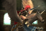 FE13 Falcon Knight (Cordelia)