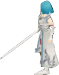 FE10 Lucia Swordmaster (Haircut) Sprite