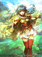 Eirika card art fire emblem cipher