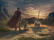 Ike and Mist mourning