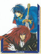 Marth and Michalis manga