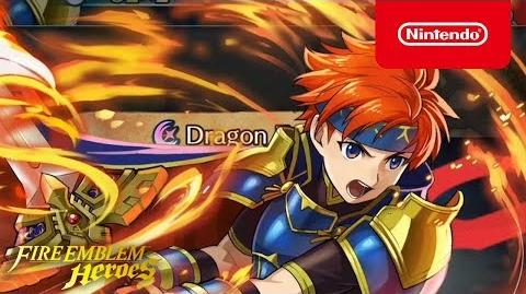 Fire Emblem Heroes - Legendary Hero (Roy Blazing Lion)