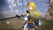 Captura de Lianna en el campo de batalla - Fire Emblem Warriors