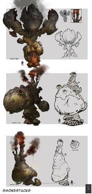 SmokeStacks Concept