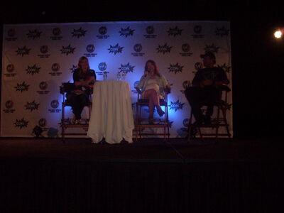 Jewel Staite and Adam Baldwin at Wizard World Nashville