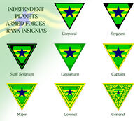 Browncoats rank insignias by marcpasquin-d929v9y
