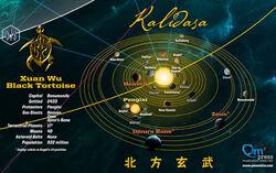 Map of The Verse Xuan Wu