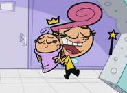 Wanda hugging
