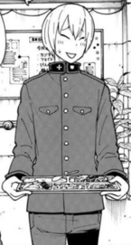 Takeru in uniform