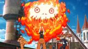 Maki violente Arthur et Shinra