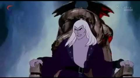 Fire & Ice 1983 cell animation Movie Eng