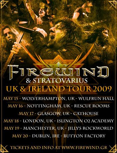 Uk Ir tour 2009