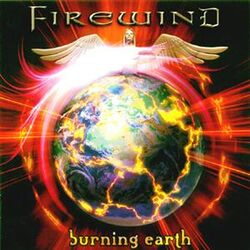 Firewind - Burning Earth (front)