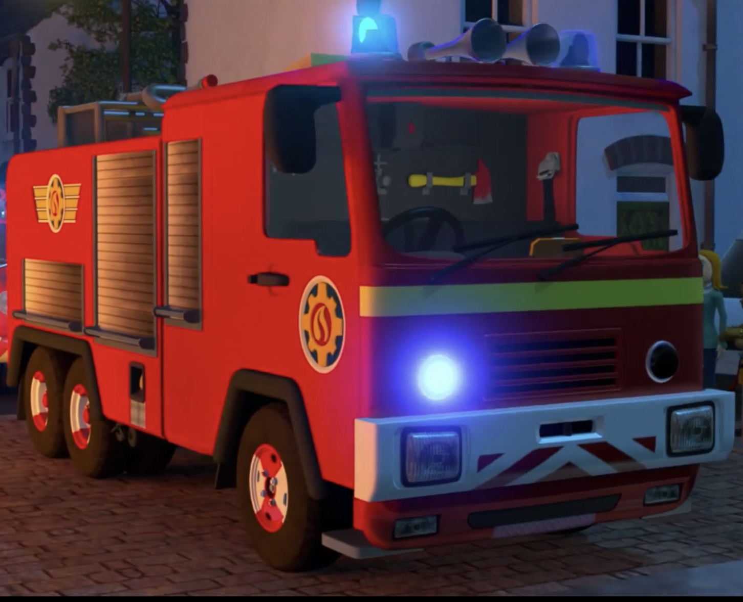 Fireman Jupiter Vehicle
