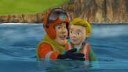 Sam rescues his nephew James
