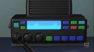 Mobile Control Unit emergency radio