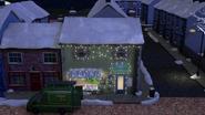 Wholefish cafe winter lights