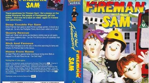 The New Adventures of Fireman Sam VHS (1994)